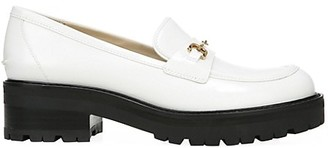 Sam Edelman Tully Lug-Sole Leather Loafers