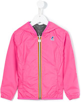 K Way Kids - reversible wind breaker jacket - kids - Polyamide/Polyester - 10 yrs