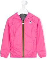 K Way Kids - reversible wind breaker jacket - kids - Polyester/Polyamide - 10 yrs