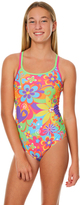 Zoggs Kids Girls Party Duo Back One Piece