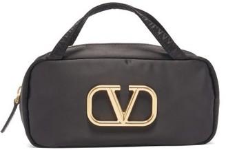 Valentino V-logo Makeup Bag - Black