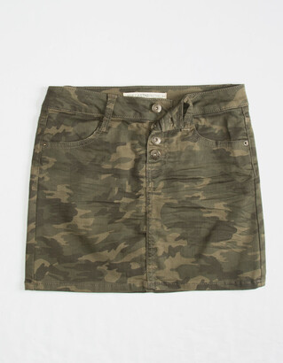 Vanilla Star Camo Girls Skirt