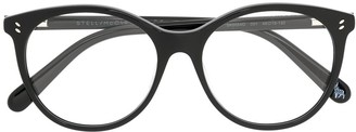 Stella Mccartney Kids Circle Frame Glasses