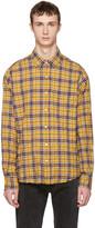 Faith Connexion Yellow Plaid Shirt