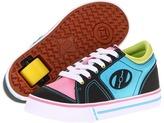 Heelys Flint (Little Kid/Big Kid/Unisex) (Light Lime/Classic Pink/River Blue/Black) Kids Shoes