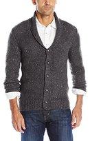 Original Penguin Men's Lambswool Blend Shawl Collar Cardigan Sweater