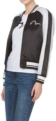 Evisu Souvenir Jacket With Studded Sleeves