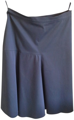 Max Mara Blue Cotton Skirt for Women