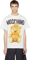 Moschino White Jewel Bear T-shirt