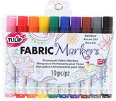 Tulip 31648 Fabric Markers, 10-Pack