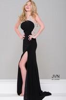 Jovani Jersey Embellished High Slit Dress JVN47030