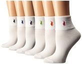 Lauren Ralph Lauren Cotton Turn Cuff 6-Pack