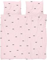 Snurk - Bow Tie Duvet Set - Pink - Double
