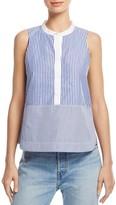 Elizabeth and James Jacey Striped Sleeveless Shirt