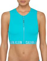Calvin Klein Cropped Rash Vest