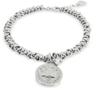 Nomination Sterling Silver Guardian Angel Charm Bracelet
