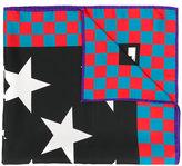 MSGM star print scarf