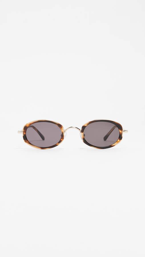 5715b7703a Illesteva Beige Women s Sunglasses - ShopStyle