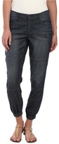 DKNY Relaxed Jogger Light Weight Denim in Sheer Wash