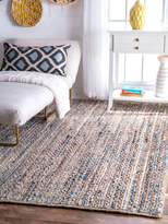 nuLoom Langlois Hand-Braided Cotton Rug