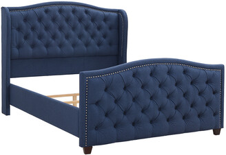 Jennifer Taylor Marcella Tufted Wingback Bed
