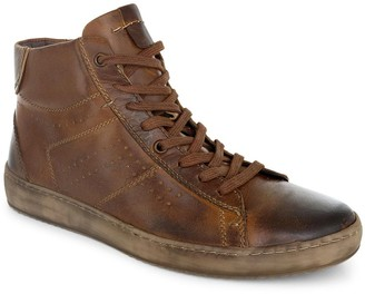 ROAN Men's Hand Finished Leather Sneaker Boots- Roost