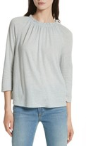 Rebecca Taylor Women's Texture Jersey Off The Shoulder Top
