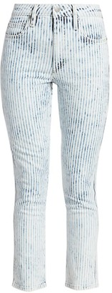 Joe's Jeans The Luna High-Rise Stripe Skinny Ankle Jeans