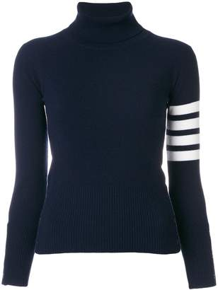 Thom Browne striped turtleneck sweater