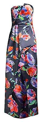 Parker Black Women's Whitney Strapless Floral Gown
