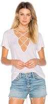 LnA Twice Crossed Tee