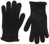 Armani Jeans Women's Studded Logo Gloves