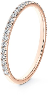 Forevermark Engagement & Commitment Pave Diamond Band