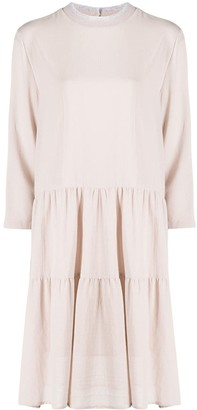 Fabiana Filippi Tiered Shift Dress