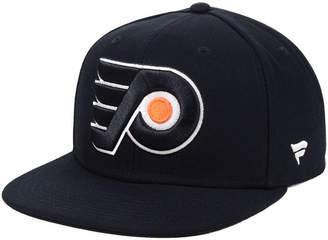 Authentic Nhl Headwear Philadelphia Flyers Basic Fan Snapback Cap