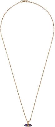 Cornelia Webb 24-karat Gold-plated Sterling Silver Amethyst Necklace