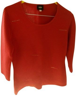 Versace Red Wool Knitwear for Women
