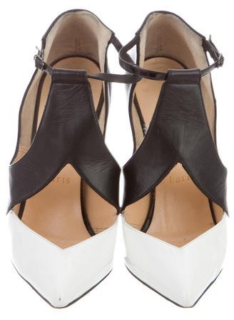 Christian Louboutin Dictata Pointed-Toe Pumps