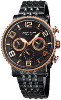 Akribos XXIV Men's Stainless Steel Watch
