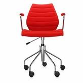 Kartell Maui Task Chair Upholstery Color: Trevira Red