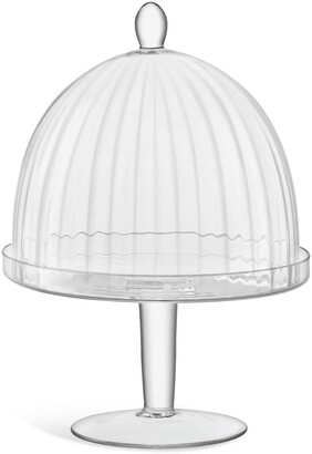 LSA International Aurelia glass stand and dome