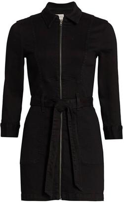 Alice + Olivia Jeans Zip-Front Dress