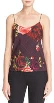 Ted Baker Women's 'Klisha - Juxtapose Rose' Print Camisole