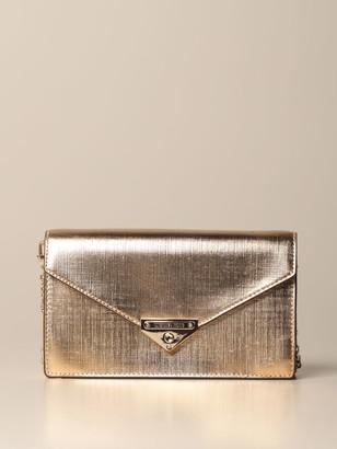 MICHAEL Michael Kors Shoulder Bag Grace Bag In Metallic Saffiano Leather