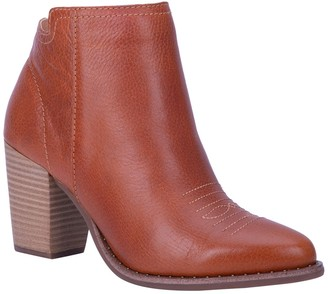 Dingo Call Back Leather Ankle Bootie