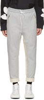 3.1 Phillip Lim Grey Tapered Lounge Pants