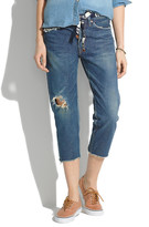 Madewell Chimala Selvedge Tapered Jeans