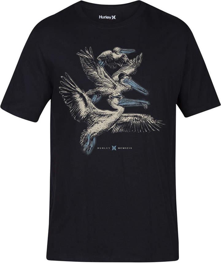 Hurley Men's Pelican Pod Graphic T-Shirt