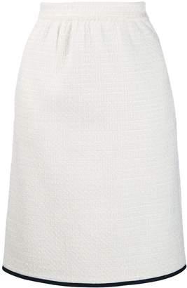 Moschino tweed skirt