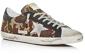 Golden Goose Unisex Superstar Camo Low-Top Sneakers